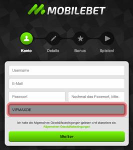 mobilbet gutscheincode