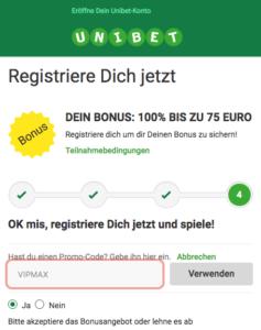 Unibet Promo Code Österreich