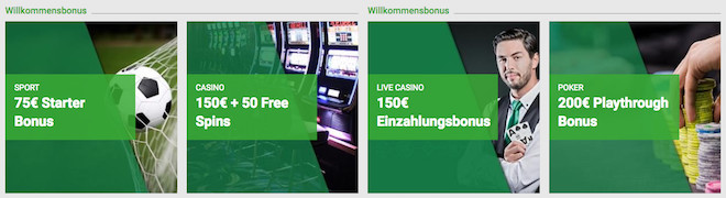 willkommensbonus sportwetten casino